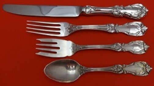 Autumn Leaves by Reed and Barton Sterling Silver Regular Size Place Setting 4pc