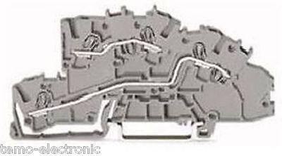 50 Stück WAGO Installations-EtagenklemmTS 35 2003-7642 NEU