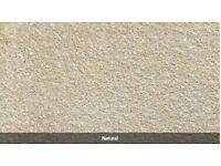 Marshalls Saxon 450 x 450 x 35 Paving slabs - 24 natural + 14 -900m rolltop edgings