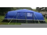 Zenobia 6 tent and Porch with lots of extras