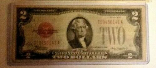 1928D $2 Red Seal in new holder
