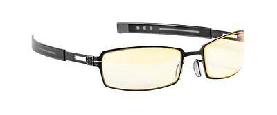 Gunnar Optiks PPK-07201 PPK Computer/Gaming Glasses - Dark Steel Frame w/Amber