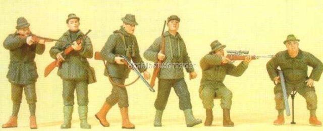 H0 Preiser 10552 Jäger. Figuren OVP