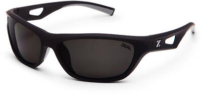 Genuine ZEAL Emerge Sunglasses Replacement Lenses - Grey Polycarbonate