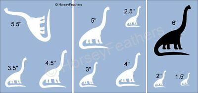 NEW-Dinosaur E~Shapes STENCIL~ DIY U Paint Kids Prehistoric Animal Reptile Play