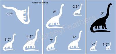 NEW-Dinosaur E~Shapes STENCIL~ DIY U Paint Kids Prehistoric Animal Reptile Play