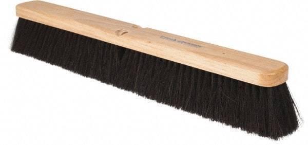 """PRO-SOURCE 24"""" General Purpose Horsehair Blend Push Broom"""