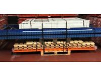 2nd Hand Planned Storage Pallet Racking Bundle - Good Condition