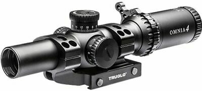 Truglo Omnia 1-4x24mm Scope 30mm Tube Ir Sp W/1pc Mount Do Riflescope: TG8514TLR