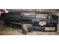 *** Vw Golf Mk2 GTI Black Dashboard Complete *** £50