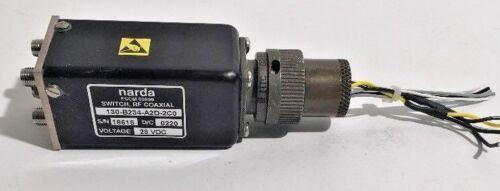 Narda 130-B234-A2D-2C0 RF Coaxial Latching Transfer Switch DC-8 GHz SMA 28VDC