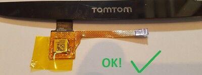 TOMTOM GO 500 5000 510 5100 4FL50 4FA50 TOUCHSCREEN DIGITIZER GLAS Ersatz navi