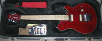 Music Man Axis (Trans Red).