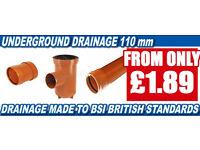 110mm Undergound Drainage System