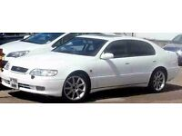 "1996 Lexus GS300 Auto-Sport Frozen White 18"" x5 staggered alloys Heated Leather sunroof m.o.t"