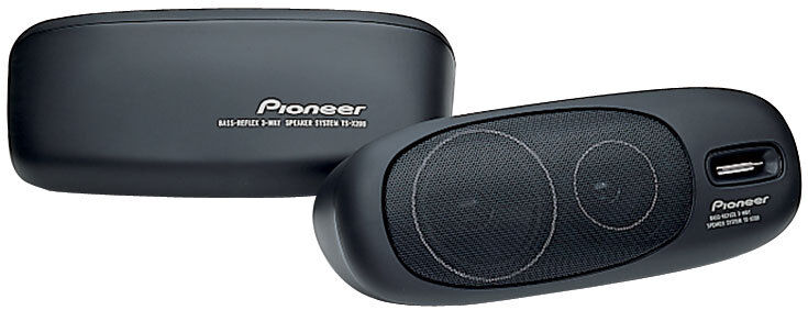 NEW  Pioneer Car Stereo 3way Box Speaker Pair.replacement.su