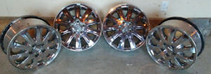 "Buick 17"" Chrome Rims"