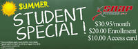 SUMMER STUDENT SPECIAL - VALLEY EAST SNAP FITNESS!