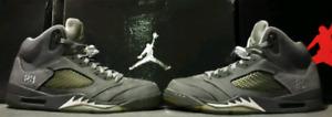 Jordan 5 Wolf Grey size 10.5