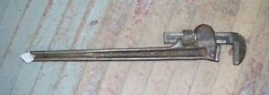 RARE A B Jardine Canada Large Pipe Wrench