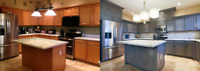 ▶Kitchen Cabinets▶Painting▶Refacing▶Countertops