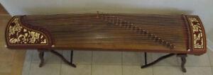 Chinese Instr: Guzheng, Guqin, erhu, pipa, Liuqin, yangqin dizi