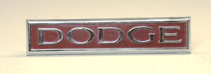 1975-1976 DODGE CHARGER, CORONET GRILL EMBLEM