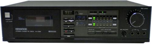 Vintage Kenwood KX-32B Stereo Cassette Tape Deck - 80s Dolby