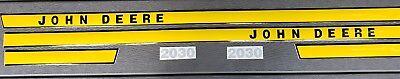 John Deere 2030 Hood Decal Set Early Model