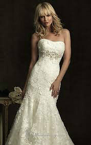 Beautiful Allure Wedding Gown (size 6) MUST SELL QUICKLY Regina Regina Area image 3