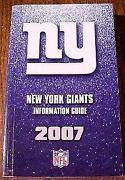 New York Giants Media Guide