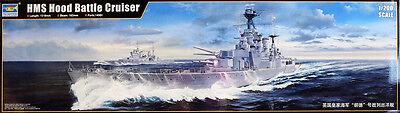 HMS Hood (51) Royal Navy Kriegsschiff Battleship 1:200 Model Kit Trumpeter 03710