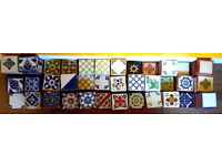 Decorative Hand Made Mexican Tiles