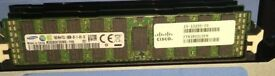 Samsung 16GB RAM 4RX4 PC3L-10600R DDR3 ECC Server REG Memory