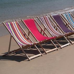 Houten Strandstoel Met Armleuning.Strandstoelen Met Of Zonder Armleuning Tuinmeubelen