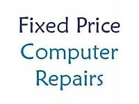 Computer/Laptop repairs onsite or collect/return service. Fixed price - £25