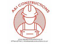 A&I Constructions - Full Home Renovations/Refurbishments - Beat Any Written Quote Guaranteed