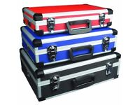 Maplin Coloured Flight Case - One Blue And One Black
