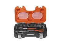 Bahco 29 pc socket set MM/AF 1/4 inch NEW