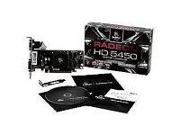 Radeon HD 5450 1GB GDDR3 VGA DVI HDMI PCI-E 2.1 x16 Graphics Card