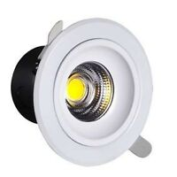LED COB DIMMABLE DOWNLIGT, cUL CERTIFIED AND IC RATED