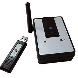 Wireless PC to Stereo Audio Transmitter