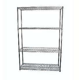 Metal shelf unit