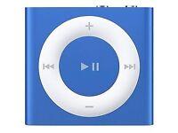 Blue iPod shuffle 2gb