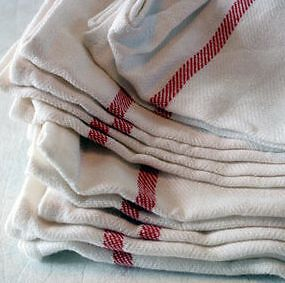 IKEA-Economical-Red-White-Kitchen-Bar-Towel-Cotton-NEW-Tekla-Dish-Work-NEW