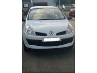 Renault Clio 2008 1.2 10 months mot 33k 1 owner since new