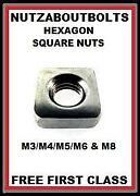M6 Square Nut