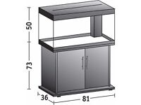4 months old Juwel Rio 125 marine tropical cold water fish tank with setup (delivery)