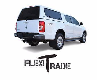 Flexiglass FlexiTrade Canopy - NEW - Models for all new duel cabs