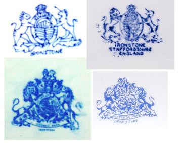Victoria Ware Ironstone Fakes From China Ebay